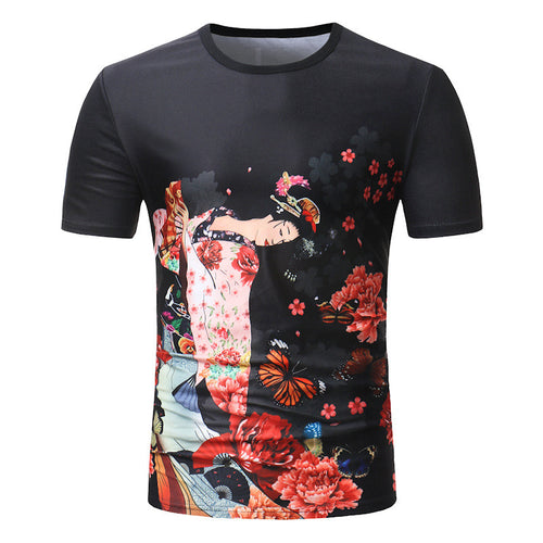 Flowering Plant Casual T-shirt
