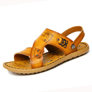 Men's Soft Genuine Leather Sandals