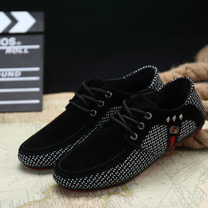 Men's Bristish Casual Breathable Shoes