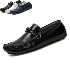 Men's Breathable Leather Driving Shoes