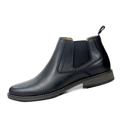 High Leather With Velvet Retro Men's Boots