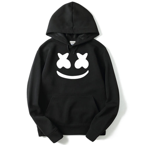 Marshmello Face Printed Hoodies