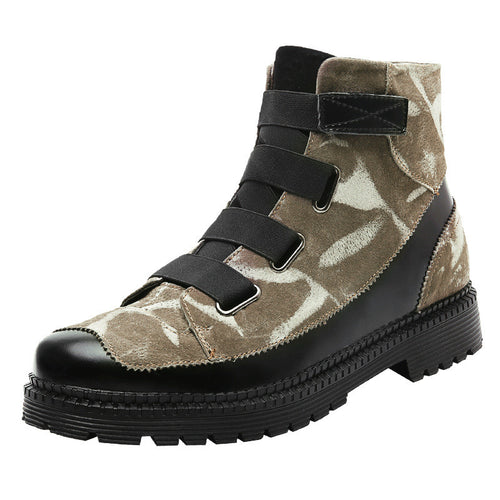 Warmth Antislip Patchwork Men's Boots
