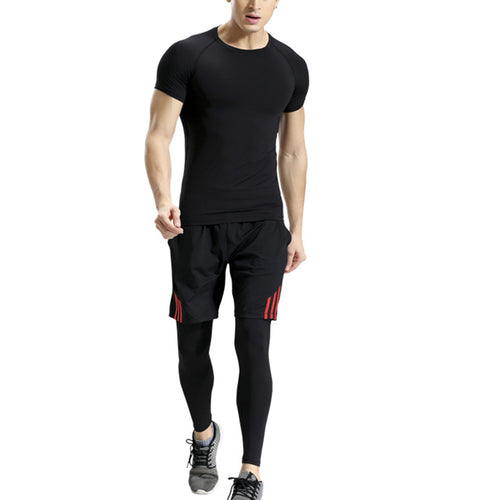 Fitness Three-piece Sports Suit