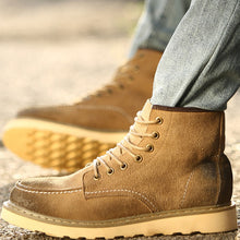 Brief Suede Anti-Slip Outdoor Men's Hiking Boots