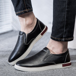 Men's Leather Casual Loafer