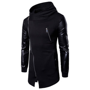 Long Sleeve Cotton Blends Zipper Men's Hoodies