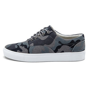 Camo Canvas Lace Up Men's Casual Shoes