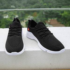 Fly Weaving Material Net Korean Version Men's Sneakers