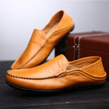 Big Size Soft Leather Shoes