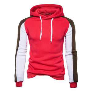 Colorblock All-match Hoodie