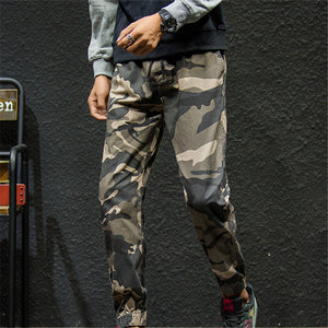 Camouflage Breathable Feet Men's Bottom