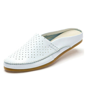 Men's Casual Leather Slippers
