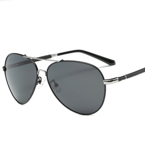 Metal Polarized Driving Sunglasses