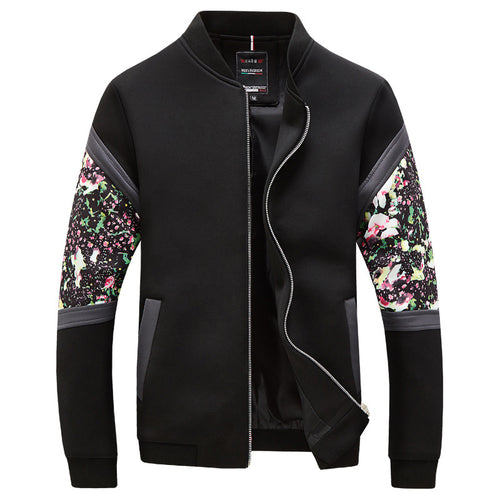 Thin Self-cultivation Printing Men's Jacket