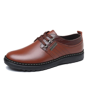 Comfortable Tie Anti-skid Men'a Casual Shoes