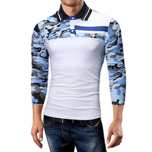 Camouflage Collar Casual Men's Sweatshirts