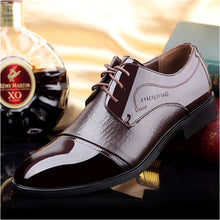 Patent Leather British Lacing Up Dress Shoes