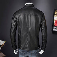 Handsome Locomotive Self-cultivation Men's Pleather Coat