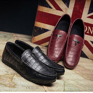Men's Crocodile Pattern Loafer