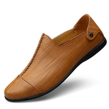 Large Size Causal Leather Shoes
