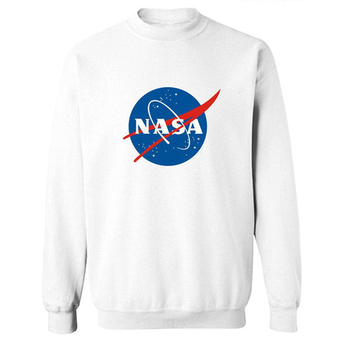 Nasa Printed Pullover Hoodies