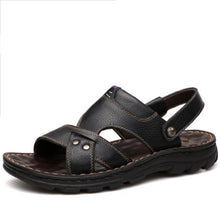 Soft Genuine Leather Beach Sandals