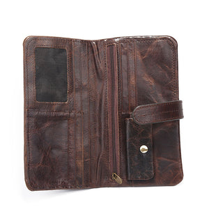 Vintage  Long Section  High Capacity Men's Wallets