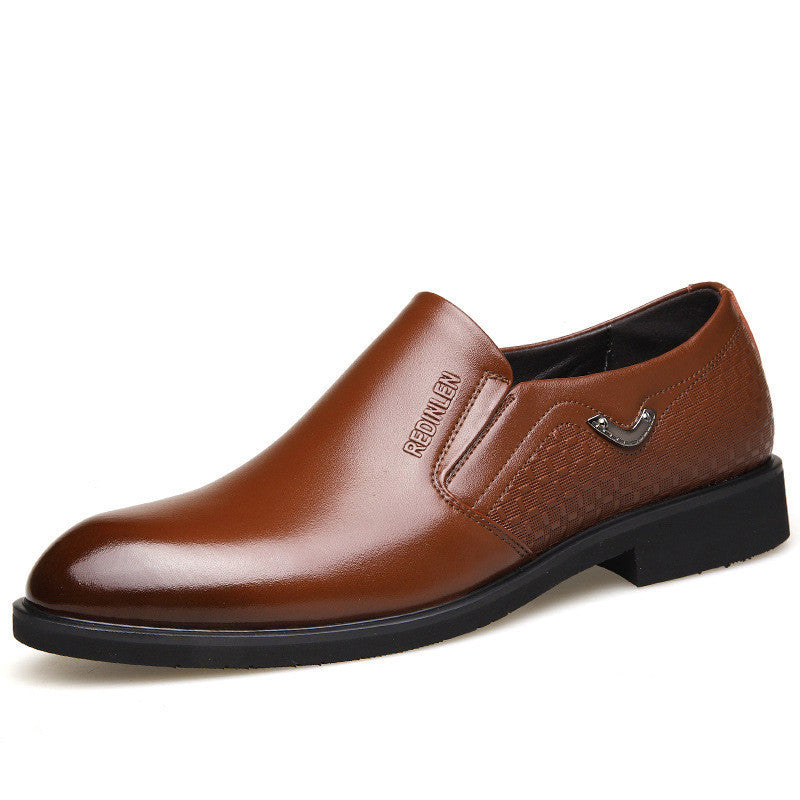 Cow Leather Business Casual Shoes
