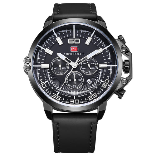 Multifunction Big Dial Watch