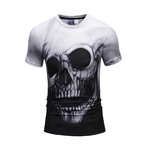 Skull Heads 3D  Printed T-shirts