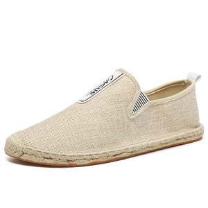 Breathable Flax Casual Loafer