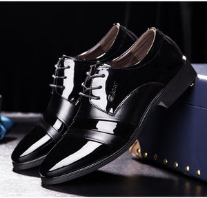 Men's Fashion Leather Business Shoes