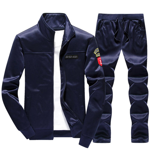 Pure Color Letter Comfortable Without Shirt Men's Tracksuit