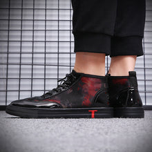 Breathable Patchwork Mesh Men's Flat Shoes