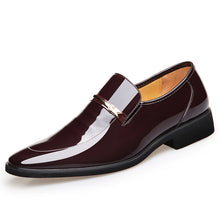 Slip On Fashion Male Formal Oxford Shoes