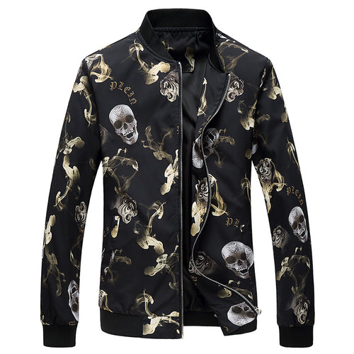 Printing Colouring Self-cultivation Men's Jacket