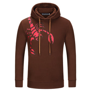 Comfortable Warm Windproof Hooded Men's Hoodie