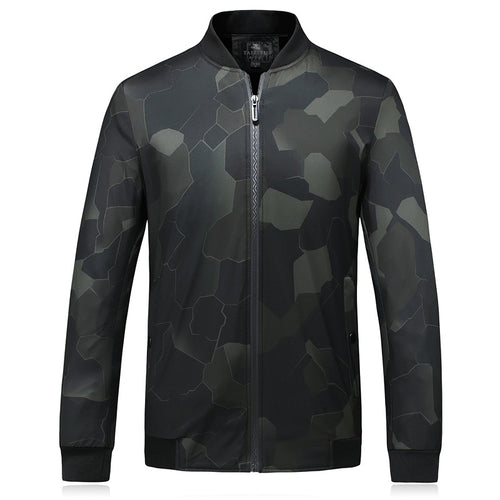 Loose Printing Camouflage Men's Jacket