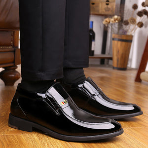Brief Round Toe Anti-Slip Warm Men's Oxfords