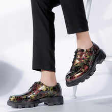 Camouflage Floral Low Heel Men's Casual Shoes
