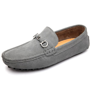 Real Leather Sleeve Pin  Men's Shoes