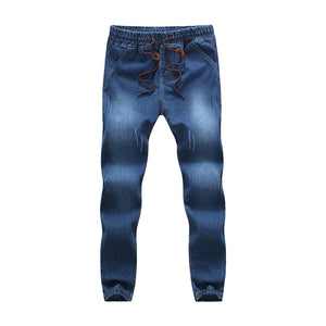 Big Size Solid Color Jeans