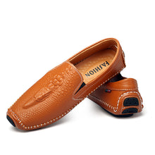 Crocodile Skin Business Shoes