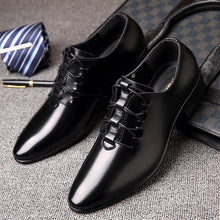 Microfiber Leather Pointed Toe  Shoes