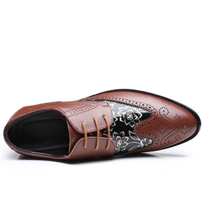 Brock Carved British Shoes