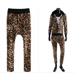 Leopard Casual Suit