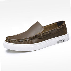 Breathable Comfortable Plain Men's Loafers