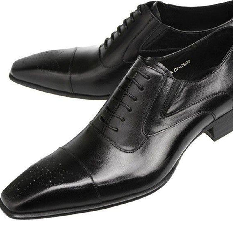 Breathable Deodorizing Increase Men's Oxfords