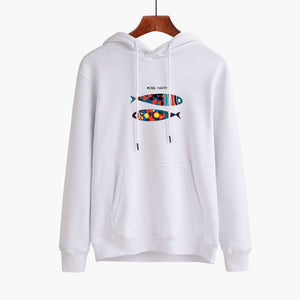 Animal Hooded Pullover Long Sleeve Men's Hoodie